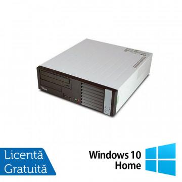 Calculator FUJITSU SIEMENS E5625 Desktop, AMD Athlon Dual Core 64 x2 5600B 2.90 GHz, 4GB DDR2, 160GB SATA, DVD-RW + Windows 10 Home, Refurbished Calculatoare Second Hand
