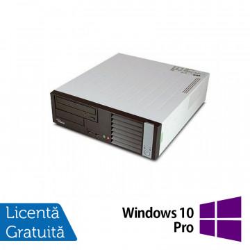 Calculator FUJITSU SIEMENS E5625 Desktop, AMD Athlon Dual Core 64 x2 5600B 2.90 GHz, 4GB DDR2, 160GB SATA, DVD-RW + Windows 10 Pro, Refurbished Calculatoare Refurbished