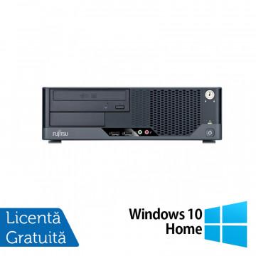 Calculator FUJITSU SIEMENS Esprimo E7935 SFF, Intel Core 2 Quad Q8300 2.50 GHz, 2GB DDR3, 250GB SATA, DVD-ROM + Windows 10 Home, Refurbished Calculatoare Refurbished