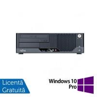 Calculator FUJITSU SIEMENS Esprimo E7935 SFF, Intel Core 2 Quad Q8300 2.50 GHz, 2GB DDR3, 250GB SATA, DVD-ROM + Windows 10 Pro