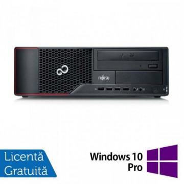 Calculator Fujitsu Siemens E710 SFF, Intel Core i3-3220 3.30GHz, 4GB DDR3, 250GB SATA, DVD-ROM + Windows 10 Pro, Refurbished Calculatoare Refurbished