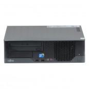 Calculator Fujitsu E7936 SFF, Intel Pentium E5500 2.80GHz, 4GB DDR3, 250GB SATA, DVD-ROM, Second Hand Calculatoare Second Hand