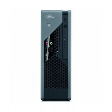 Calculator Fujitsu Siemens C5731 USFF, Intel Core 2 Duo E8400 3.00GHz, 4GB DDR3, 80GB SATA, 2x Serial, DVD-ROM, Second Hand Calculatoare Second Hand