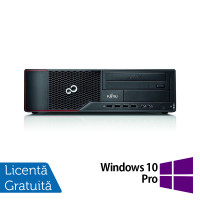 Calculator Fujitsu Siemens E710 SFF, Intel Core i5-3470 3.20GHz, 4GB DDR3, 500GB SATA, DVD-RW + Windows 10 Pro