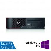 Calculator Fujitsu Siemens E710 SFF, Intel Core i7-3770 3.40GHz, 4GB DDR3, 250GB SATA, DVD-ROM + Windows 10 Pro, Refurbished Calculatoare Refurbished