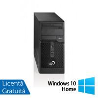 Calculator FUJITSU SIEMENS Esprimo P500 Tower, Intel Core i3-2100 3.10GHz, 4GB DDR3, 500GB SATA, DVD-RW + Windows 10 Home