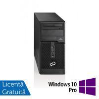 Calculator Fujitsu Siemens Esprimo P510 Tower, Intel Pentium G2020 2.90GHz, 4GB DDR3, 500GB SATA, DVD-RW + Windows 10 Pro