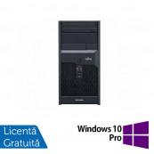 Calculator Fujitsu Esprimo P2560, Intel Core 2 Duo E7500 2.93GHz, 4GB DDR3, 160GB SATA, DVD-ROM + Windows 10 Pro, Refurbished Calculatoare Refurbished