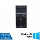 Calculator Fujitsu Esprimo P2560, Intel Core 2 Duo E7500 2.93GHz, 4GB DDR3, 160GB SATA, DVD-ROM + Windows 10 Home, Refurbished Calculatoare Refurbished
