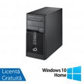 Calculator FUJITSU SIEMENS P400 Tower, Intel Core i3-2120 3.3 GHz, 4 GB DDR 3, 500GB SATA, DVD-ROM + Windows 10 Home, Refurbished Calculatoare Refurbished