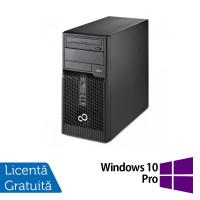 Calculator Fujitsu Siemens P400 Tower, Intel Pentium G645 2.90GHz, 4GB DDR3, 500GB SATA, DVD-RW + Windows 10 Pro
