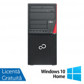 Calculator Fujitsu Siemens Esprimo P910 Tower, Intel Pentium G2120 3.10GHz, 4GB DDR3, 500GB SATA, DVD-RW + Windows 10 Home, Refurbished Calculatoare Refurbished