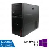 Workstation Fujitsu Celsius W510, Intel Xeon E3-1225 3.10GHz, 8GB DDR3, 500GB SATA, DVD-ROM + Windows 10 Pro, Refurbished Workstation