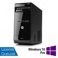 Calculator HP Pro 3400 Tower, Intel Pentium G630 2.70GHz, 4GB DDR3, 500GB SATA, DVD-RW + Windows 10 Pro