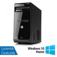 Calculator HP Pro 3400 Tower, Intel Pentium G850 2.90GHz, 4GB DDR3, 500GB SATA, DVD-RW + Windows 10 Home