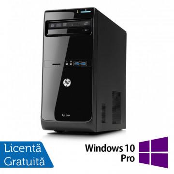 Calculator HP Pro 3400 Tower, Intel Pentium G850 2.90GHz, 4GB DDR3, 500GB SATA, DVD-RW + Windows 10 Pro, Refurbished Calculatoare Refurbished