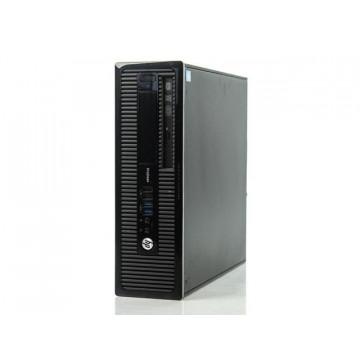 Calculator HP 400 G1 SFF, Intel Core i3-4130 3.40GHz, 4GB DDR3, 500GB SATA, DVD-RW, Second Hand Calculatoare Second Hand