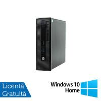 Calculator HP 400 G1 SFF, Intel Core i5-4570 3.20GHz, 8GB DDR3, 120GB SSD, DVD-RW + Windows 10 Home