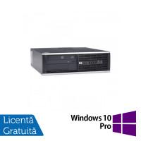 Calculator HP 4300 Pro SFF, Intel Core i7-3770s 3.10GHz, 4GB DDR3, 500GB SATA, DVD-RW + Windows 10 Pro