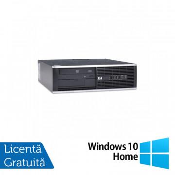 Calculator HP 4300 Pro SFF, Intel Pentium G2020 2.90GHz, 4GB DDR3, 500GB SATA, DVD-RW + Windows 10 Home, Refurbished Calculatoare Refurbished