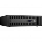 Calculator HP Prodesk 600 G2 SFF, Intel Celeron G3900 2.80GHz, 4GB DDR4, 500GB SATA, DVD-RW, Second Hand Calculatoare Second Hand