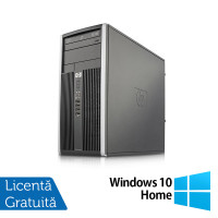 Calculator HP 6000 Tower, Intel Pentium E5500 2.80GHz, 4GB DDR3, 250GB SATA, DVD-RW + Windows 10 Home