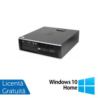 Calculator HP Compaq 6000 Pro SFF, Intel Pentium G620 2.60GHz, 4GB DDR3, 250GB SATA + Windows 10 Home