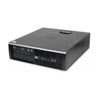HP 6000 Pro SFF, Intel Core 2 Duo E8400 3.0GHz, 4GB DDR3, 250GB SATA, DVD-RW