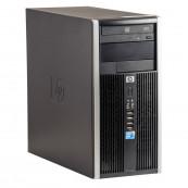 Calculator HP 6005 Pro Tower, AMD Athlon II x2 B22 2.80GHz, 4GB DDR3, 250GB SATA, DVD-ROM, Second Hand Calculatoare Second Hand