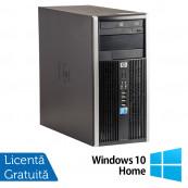 Calculator HP 6005 Pro Tower, AMD Athlon II x2 B22 2.80 GHz, 2GB DDR3, 250GB SATA, DVD-ROM + Windows 10 Home, Refurbished Calculatoare Refurbished