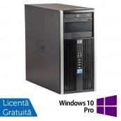 Calculator HP 6005 Pro Tower, AMD Athlon II x2 B22 2.80 GHz, 2GB DDR3, 250GB SATA, DVD-ROM + Windows 10 Pro, Refurbished Calculatoare Refurbished