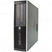 Calculator HP Compaq 6200 Pro SFF, Intel Celeron G530 2.40GHz, 4GB DDR3, 250GB SATA, DVD-RW Calculatoare Second Hand