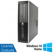 Calculator HP Compaq 6200 Pro SFF, Intel Core i5-2400 3.10GHz, 4GB DDR3, 500GB SATA, DVD-RW + Windows 10 Home, Refurbished Calculatoare Refurbished