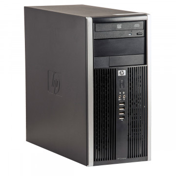 Calculator HP 6200 Tower, Intel Core i3-2100 3.10GHz, 4GB DDR3, 250GB SATA, DVD-ROM, Second Hand Calculatoare Second Hand