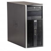 Calculator HP 6200 Tower, Intel Core i3-2100 3.10GHz, 8GB DDR3, 500GB SATA, GeForce GT210 512MB DDR3, DVD-ROM, Second Hand Calculatoare Second Hand