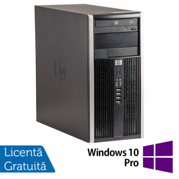 Calculator HP 6200 Tower, Intel Pentium G620 2.60GHz, 4GB DDR3, 250GB SATA, DVD-ROM (Top Sale!) + Windows 10 Pro, Refurbished Calculatoare Refurbished