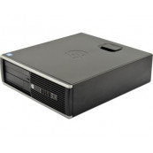 Calculator HP 6200 Pro Desktop, Intel Core i3-2100 3.10 GHz, 4GB DDR3, 250GB SATA, DVD-ROM, Second Hand Calculatoare Second Hand