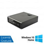 Calculator HP 6200 Pro Desktop, Intel Core i3-2100 3.10 GHz, 4GB DDR3, 250GB SATA, DVD-ROM + Windows 10 Home, Refurbished Calculatoare Refurbished