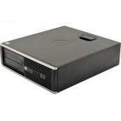 Calculator HP 6300 SFF, Intel Core i5-2400 3.10GHz, 4GB DDR3, 120GB SSD, DVD-ROM, Second Hand Calculatoare Second Hand