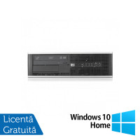 Calculator HP Compaq 6300 Pro SFF, Intel Core i3-3220 3.30 GHz, 4GB DDR3, 250GB SATA, DVD-RW + Windows 10 Home