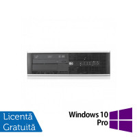 Calculator HP Compaq 6300 Pro SFF, Intel Core i3-3220 3.30 GHz, 4GB DDR3, 250GB SATA, DVD-RW + Windows 10 Pro