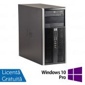 Calculator HP 6300 Tower, Intel Core i3-2120 3.30GHz, 4GB DDR3, 250GB SATA, DVD-RW + Windows 10 Pro Calculatoare Refurbished