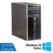 Calculator HP 6300 Tower, Intel Core i5-2400 3.10GHz, 4GB DDR3, 250GB SATA, DVD-RW + Windows 10 Home Calculatoare Refurbished
