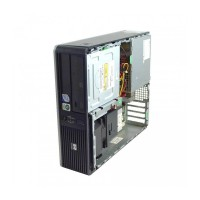 Calculator HP DC5800, Intel Pentium Dual Core E5200 2.50GHz, 2GB DDR2, 80GB SATA, Fara capac