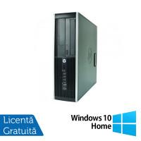 Calculator HP 8000 Elite SFF, Intel Core 2 Duo E8400 3.00GHz, 2GB DDR3, 250GB SATA, DVD-ROM + Windows 10 Home