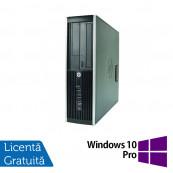 Calculator HP 8000 Elite SFF, Intel Core 2 Duo E8400 3.00GHz, 2GB DDR3, 250GB SATA, DVD-ROM + Windows 10 Pro, Refurbished Calculatoare Refurbished