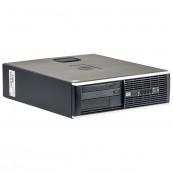 Calculator HP 8000 Elite SFF, Intel Core 2 Duo E8400 3.00GHz, 4GB DDR3, 250GB SATA, Second Hand Calculatoare Second Hand
