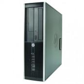 Calculator HP 8000 Elite SFF, Intel Core 2 Duo E8400 3.00GHz, 2GB DDR2, 250GB SATA, DVD-ROM, Second Hand Calculatoare Second Hand