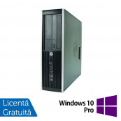 Computer HP Compaq Elite 8000 SFF, Intel Core 2 Duo E7500 2.93GHz, 2GB DDR3, 250GB SATA, DVD-RW + Windows 10 Pro, Refurbished Calculatoare Refurbished