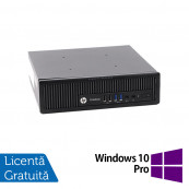 Calculator HP 800 G1 USDT, Intel Core i5-4590s 3.00GHz, 8GB DDR3, 240GB SSD + Windows 10 Pro, Refurbished Calculatoare Refurbished